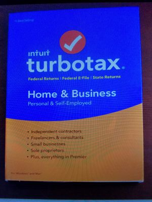 TurboTax home and business 2016 for Sale in Lodi, CA
