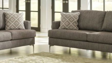 ✔️Arcola Java Sofa & Loveseat Living Room Set by Ashley 🔥Same Day Delivery for Sale in Lanham,  MD
