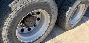 Alcoa Aluminum semi truck trailer 22.5 inch rims only for Sale in Stockton, CA