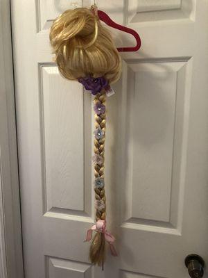 Rapunzel braid wig toddler girl Disney for Sale in Cutler Bay, FL