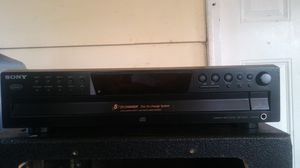 Sony 5-disc changer for Sale in Riverdale, GA
