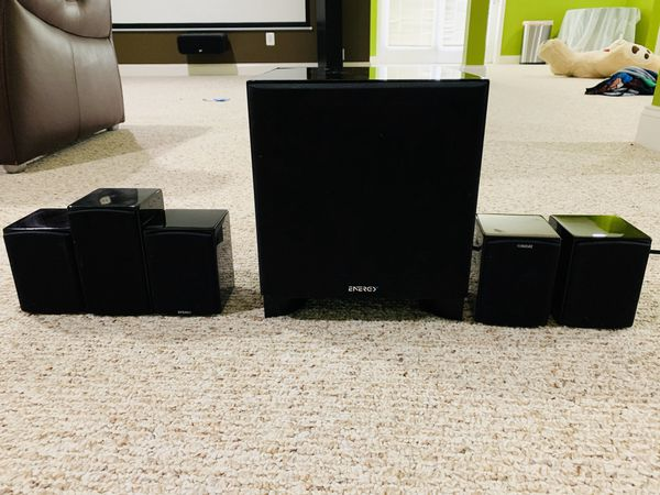 Energy 5.1 Home theater system.
