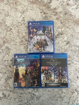 Ps4 Kingdom Hearts Full Collection for Sale in Haines City, FL
