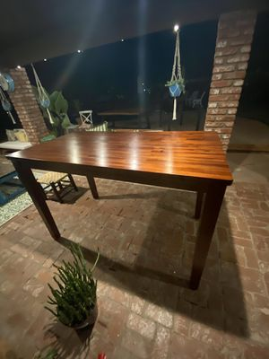 New Stunning Contemporary Indoor Dining Table (extra tall) for Sale in Los Angeles, CA