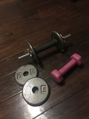 Sport weights for building muscles for Sale in Grand Prairie, TX