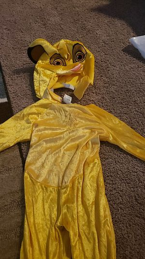 Simba lion king outfit for Sale in Sacramento, CA