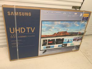 "Samsung - 65"" Class - LED - NU6900 Series - 2160p - Smart - 4K UHD TV with HDR for Sale in Waldorf, MD"
