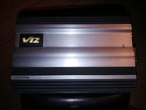 Alpine MRV-F357 5-channel full system amplifier - great old school power! for Sale in La Vergne, TN