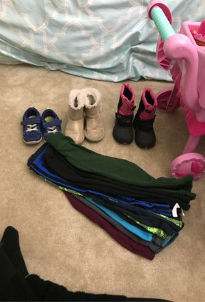 Shoes and 3T pants for Sale in Chelmsford, MA