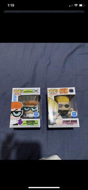 Funko Pop Dexter and Johnny Bravo for Sale in Scottsdale, AZ