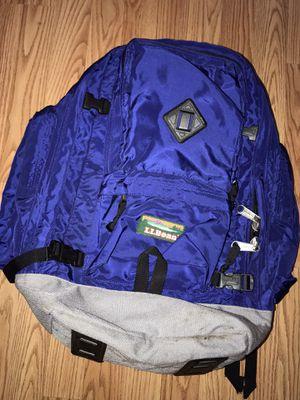 Vintage LL Bean Mt Katadhin outdoors hiking daypack backpack bag for Sale in Seattle, WA