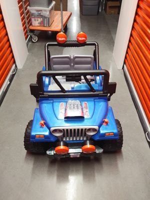 Fisher Price Power Wheels Hot Wheels edition Jeep for Sale in Colorado Springs, CO