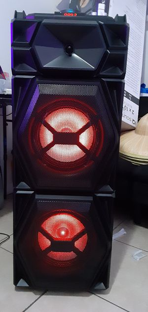 Speakers bluetooth 3000watts brand new in the box with micróphone wireles kit drums for Sale in Miami, FL