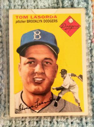 Lasorda Baseball Card for Sale in El Monte, CA