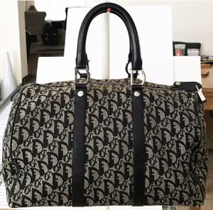 Authentic Christian Dior Black Trotter Boston Speedy Shoulder Bag for Sale in West Covina, CA