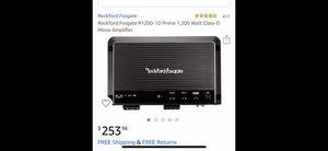Rockford fosgate amp for Sale in Dallas, TX