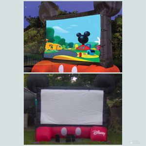 New!! Inflatable Movie Screen, Outdoor Screen, Backyard Movie Screen,10Ft Movie Screen for Sale in Phoenix, AZ