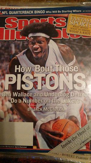 Pistons sports illustrated for Sale in Bangor, ME
