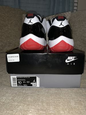 Jordan 11 white bred.brand new W/box . Size 10 for Sale in Murfreesboro, TN