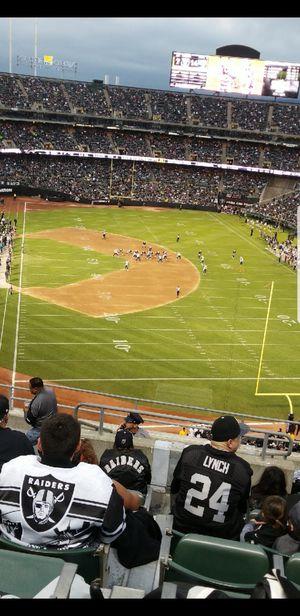 Raiders Vs Bengals for Sale in Modesto, CA