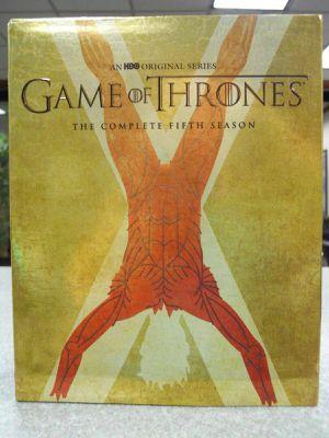 Game of Thrones Season 5 Blu-ray Exclusive BOLTON SIGIL Slipcover Best Buy Open NO DIGITAL HD Code! Fifth for Sale in San Fernando, CA