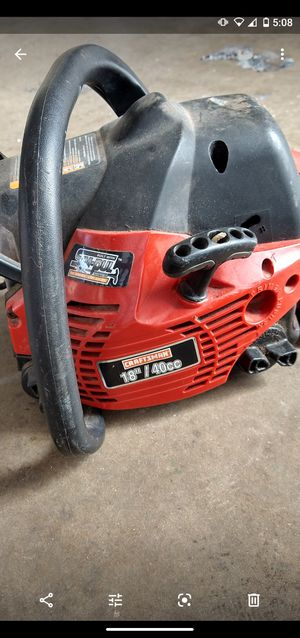 Craftsman 18/40cc chainsaw for Sale in Fort Worth, TX