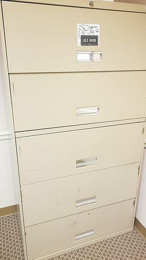 Filing Cabinet 4 Drawer Lateral for Sale in Atlanta, GA