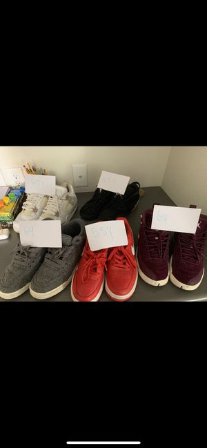 Jordan Retros, & Air force 1 for Sale in Denver, CO