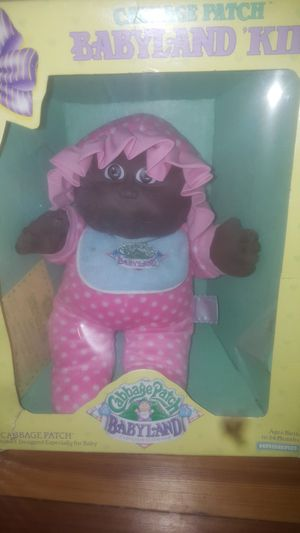 Vintage Cabbage Patch Doll with Certificate for Sale in Mount Laurel, NJ