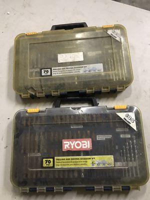 Ryobi drill and drive accessories for Sale in Kailua-Kona, HI