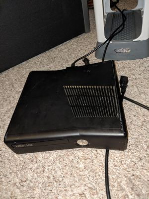 Xbox 360 (games , controllers,guitar, and stand) for Sale in Eureka, IL