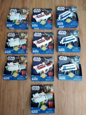 Star wars nerf blasters different kinds for Sale in Watertown, NY