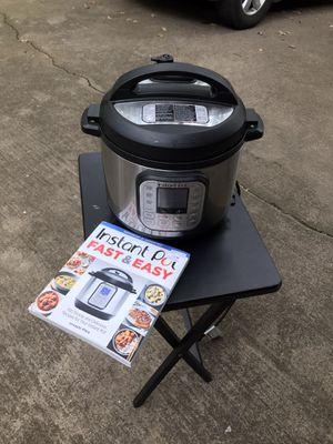 Instant Pot Nova Plus and cookbook for Sale in Grapevine, TX