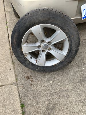Dodge Charger tire and ram for Sale in Dearborn, MI