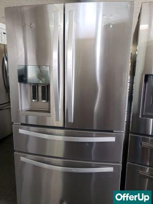 💎💎💎With Warranty Whirlpool Refrigerator Fridge French Door 4-Door #1209💎💎💎 for Sale in Chino, CA