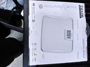 Taylor digital bathroom scale for Sale in San Diego, CA