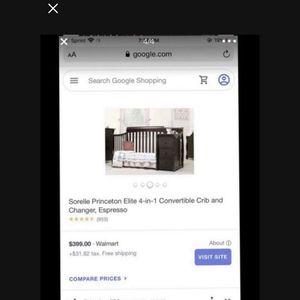 4 In 1 Crib for Sale in Fresno, CA