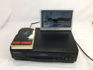 Panasonic vcr vhs player recorder pv-v4021 for Sale in Irvine, CA
