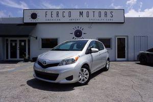 2014 Toyota Yaris for Sale in Miami, FL