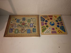 New Sealed Toddler Wooden Puzzles for Sale in Fresno, CA