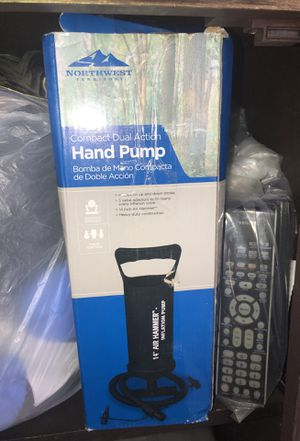 Hand pump for air mattress for Sale in Beaumont, CA