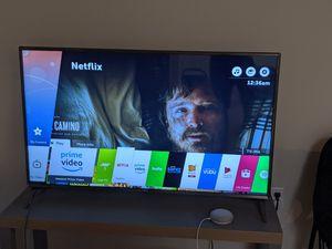 LG 49 INCH 4KSMART LED TV for Sale in Mill Creek, WA