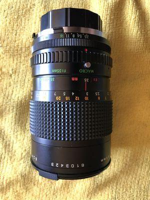 Tou/five star 35-105mm camera lens for Sale in Carmichael, CA