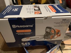 "20"" husqvarna chainsaw 50.1cc for Sale in Lawrenceville, GA"