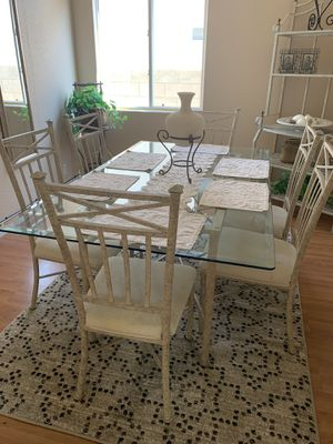 Dining table and Bakers rack for Sale in Las Vegas, NV