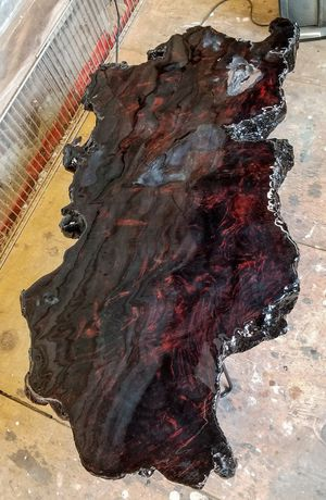 FREE DELIVERY! Black walnut burl coffee table for Sale in Alameda, CA
