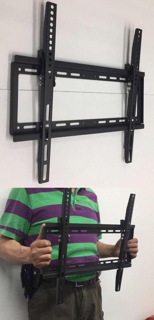 New in box 32 to 50 inches tilt tilting tv television wall mount bracket flat screen soporte de tv for Sale in West Covina, CA
