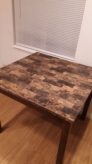 Marble top kitchen table for Sale in Salt Lake City, UT