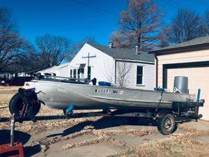 16 Footer John boat for Sale in Wichita, KS