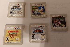 Nintendo 3DS Games- SEE DETAILS for Sale in Opelika, AL
